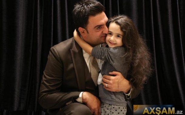 Nəsib Nur qızı ilə açılışda - fotolar